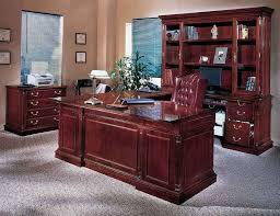 luxury home office. Office:Vintage Luxury Home Office Furniture Sets With Brown Wooden Also Window Blinds