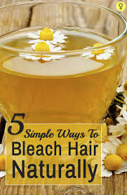 5 Simple Ways To Bleach Hair