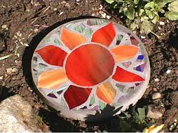 Diy Stepping Stones How To Make A Stained Glass Stepping Stone Hgtv