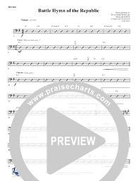 Battle Hymn Of The Republic Rhythm Acoustic Guitar Chart
