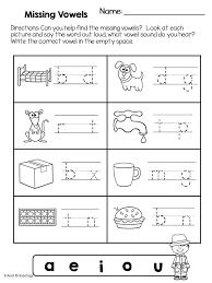 One Vowel Cvc Word Worksheets Worksheets for all   Download and ...