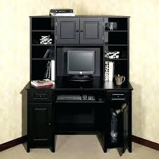 corner office desk hutch. Office Desk Hutch Black 9 Best Options Images On Corner With . E