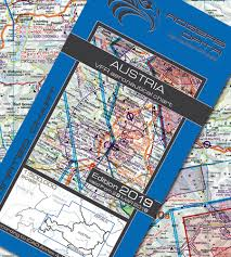 Magnetic Variation Sectional Chart Austria Vfr Aeronautical Chart Icao Chart 500k 2019