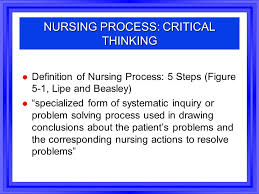 Critical Thinking in Nursing Practice   ppt download SlideShare