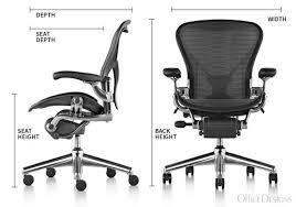 herman miller ergonomic chair. herman miller classic aeron chair dimensions ergonomic a