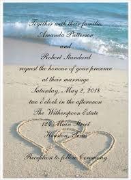 Beach Wedding Invitations Templates Free 24 Beach Wedding