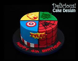 Superhero Cake Design Cakes Made By Delicious Cake Design For Delicious Cake
