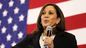 The former us vice president survived another democratic debate on thursday largely unbloodied and unbowed, leaving those on the margins of the race for the party's 2020 nomination. Us Election Who Is Kamala Harris Vice President Bbc News