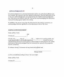 30 Professional Notarized Letter Templates Template Lab