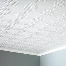glue on ceiling tiles glue up ceiling tile in matte white glue up ceiling tiles menards
