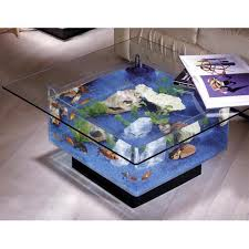 Aqua Square Coffee Table Gallon Aquarium