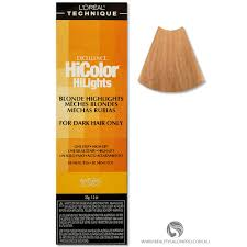 Loreal Hicolor Colour Chart Loreal Excellence Hicolor Natural Blonde Hilights For Dark Hair Only
