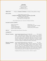30 Pharmacy Technician Job Description For Resume