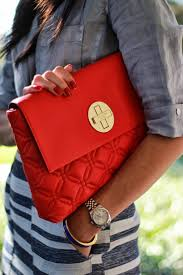 Bright red (Kate Spade) quilted bag. I love it! Even though I ... & Bright red (Kate Spade) quilted bag. I love it! Even though I Adamdwight.com