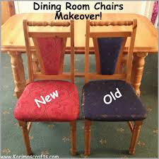 how to reupholster a dining room chair seat and back admirably karima s crafts reupholstered dining