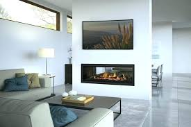 two way fireplace fireplace ideas 2018