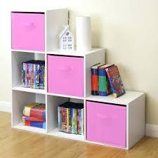kids bedroom shelves white 6 cube kids toy storage unit girls boys bedroom shelves 3