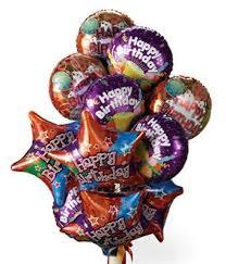 One Dozen Birthday Balloons