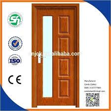wood screen door glass insert lovely half interior high quality modern doors with solid interior wood door insert glass