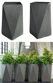 martin arrow contemporary cubist outdoor planter modern planters plant pots uk modern outdoor planters plant pots uk