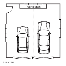 Single Car Garage Dimensions Are Some Typical Standards For Double Car Garage Size
