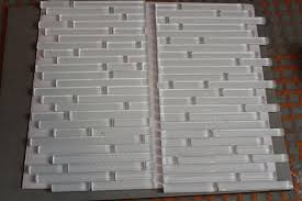 making sheets of mosaics square the