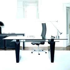 black glass office desk glass office desk contemporary office desk glass modern glass office desk home
