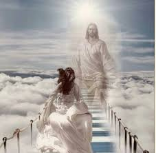 Image result for pictures of person in heaven