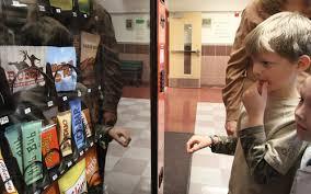 Kid In Vending Machine Interesting Fake Vending Machine Dispenses Advice At Schools The Salt Lake Tribune