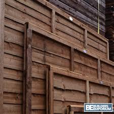 wooden garden lap fence panels overlap fencing panel