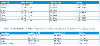Limar Helmet Size Chart 61 Faithful Bell Bike Helmet Size Chart