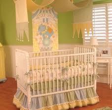 beautiful uni baby crib bedding for a circus nursery