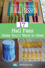 17 hall pass ideas you ll want to steal