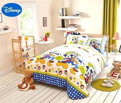 king size disney bedding comforter sets mickey mouse duck bedding full queen bedspreads cartoon cotton king king size disney bedding