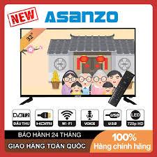 Smart Voice Tivi Asanzo 32 inch 32S53 Android 8.0, HD Ready, Có Remote  Giọng Nói, Tràn viền. Wifi, DVB-T2, Tivi Giá Rẻ
