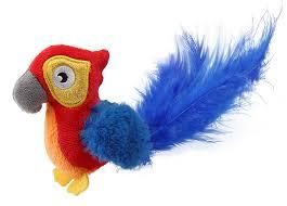 "<b>Игрушка</b> для кошек <b>GiGwi Melody Chaser</b> ""Попугай"", со звуковым ..."