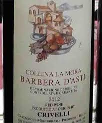 Итальянское вино Хорошее вино Регион Пьемонт Сорт винограда barbera не менее 90% один из самых распространённых в Италии Название вероятно по деревне Барбери около
