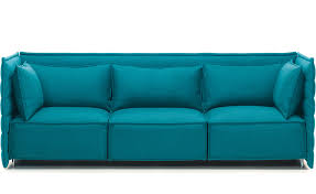 ale plume 3 seater sofa by bros bouroullec from vitra