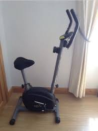 space saving exercise equipment. Exellent Equipment Opti Space Saver Exercise Bike Like New In Saving Exercise Equipment E
