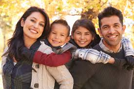 people you are born with is your family and you have to stay with them throughout your life so you should have a happy family life