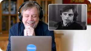 Mark Hamill (<b>Luke Skywalker</b>) Reacts to His Original <b>Star Wars</b> ...