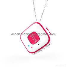 mini pendant sos personal alarm mini gps tracker locator fall detection push sound alarm by android