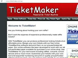 Make Free Tickets Make Event Tickets Free Ticket Template Publisher How To