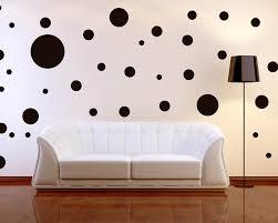 Decorations  Futuristic Home Interior Design With Black Polka Dot - Futuristic home interior