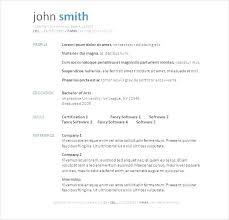 Microsoft Resume Sample Cover Letter Resume Example Short Resume