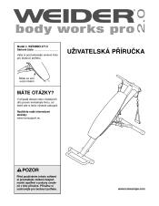 Weider Body Works Pro Chart Weider Body Works Pro 2 0 Bench Manual