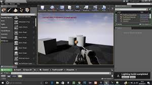 Unreal Engine Build Lighting Unreal Engine 4 15 Tutorial Lighting Needs To Be Rebuilt