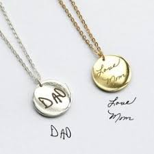 dainty handwriting necklace personalized signature necklace memorial gift custom handwriting jewelry sterling silver