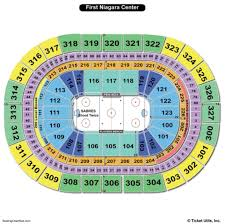 Buffalo Sabres Arena Seating Chart Keybank Center Seating Chart Seat Numbers