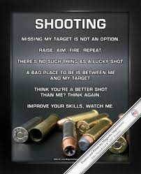"Shooting 40"" X 40"" Sport Poster Print Things That Go Boom Guns New Shooting Quotes"